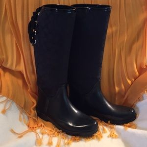 Coach Tall Rain Boots
